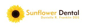 Sunflower Dental Logo Brown 300x100