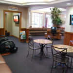 Reception Area and Movie Room